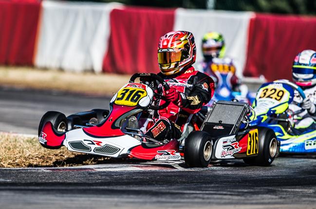 DR Racing bids hard in KFJ