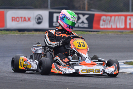 Crg on top at Rotax Pro Tour