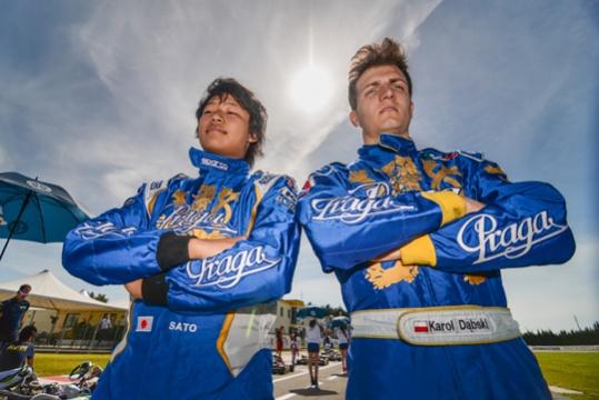 Praga Kart Racing Team at CIK FIA European Championship