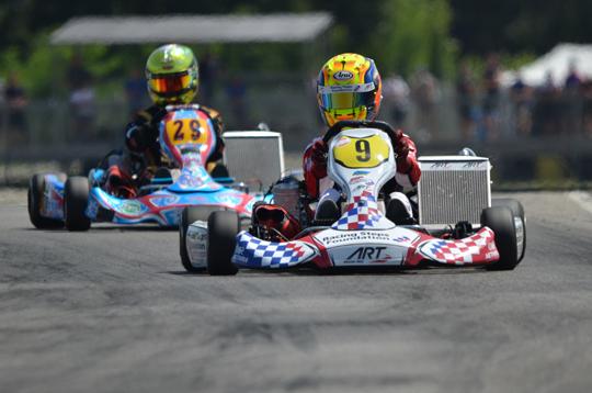 Barnicoat and Boccolacci debut in KZ2
