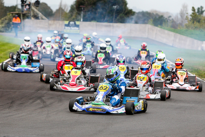 ProKart Series titles to Woolsey, Mackenzie and Cullum