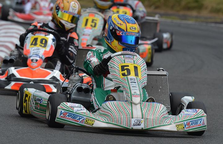 OK and OKJ MSA British Kart Championships, Shenington Kart Racing Club - Round 2, July 17 2016