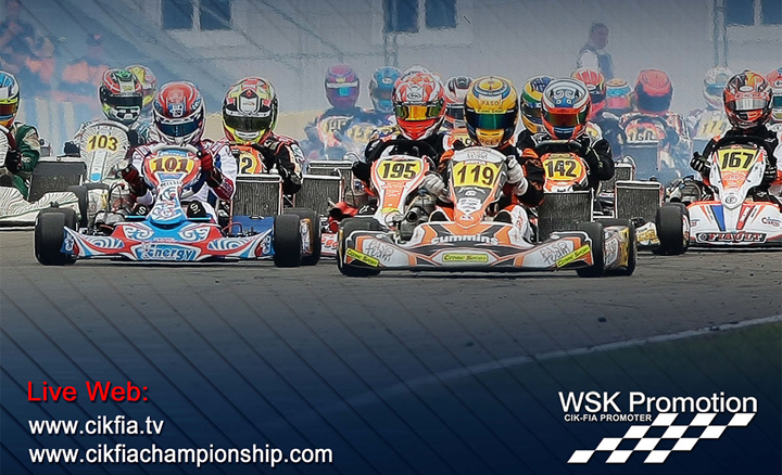 The European CIK-FIA season is about to start
