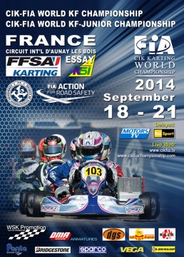 The World CIK-FIA KF & KFJ Championship ready to start