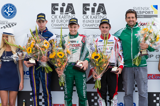 Armstrong wins in KF, Hanley champion at last
