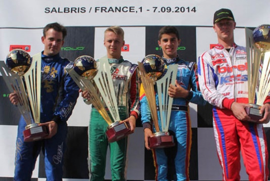 2014 Rotax Euro Champions crowned in Salbris