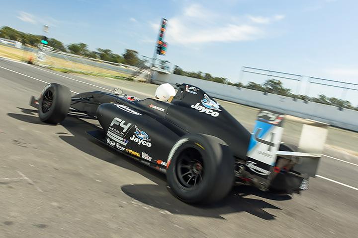 Junior karting stars test F4