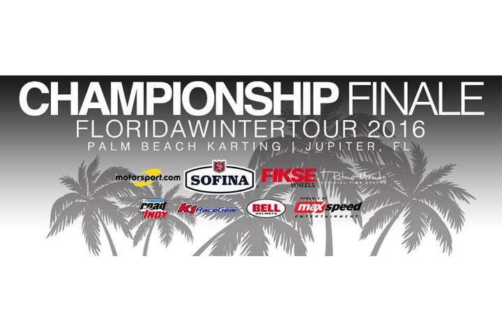 2016 Sofina Foods Florida Winter Tour Presented by Fikse Wheels ROK Cup USA Finale at Palm Beach Karting