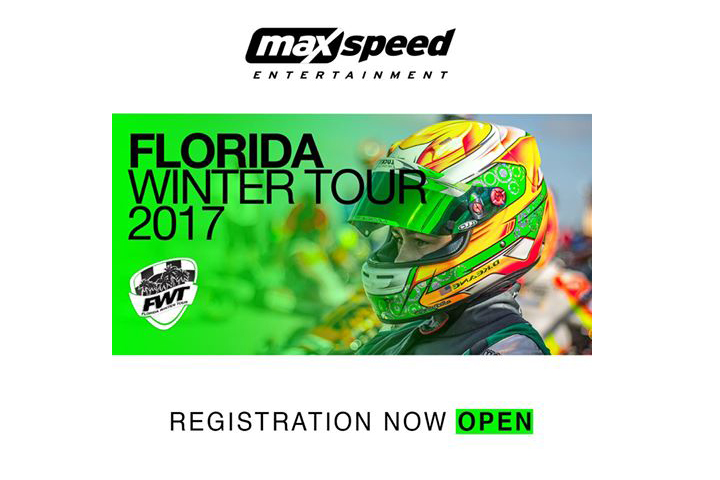 Florida Winter Tour 2017 Powered by MAXSpeed Entertainment Registration Now Open