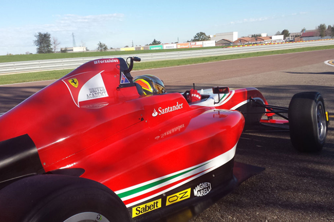 Super One awards place in Ferrari Driver Academy