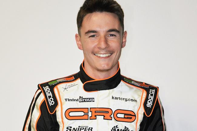 Flavio Camponeschi is a Crg driver