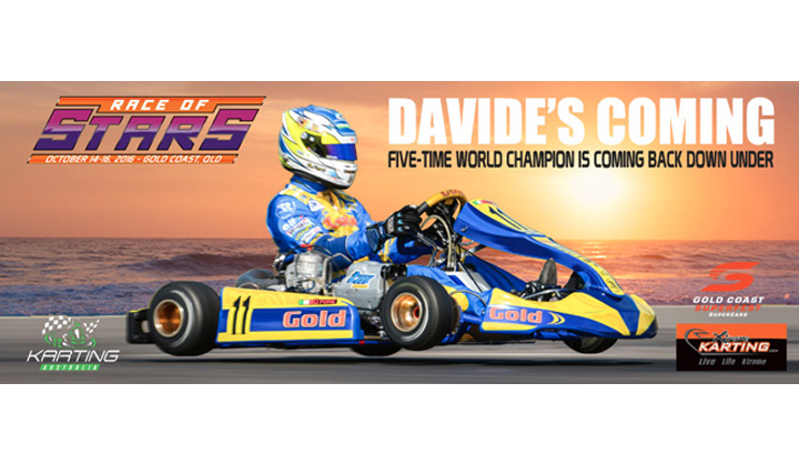 Davide Forè returns to the Gold Coast to defend Race of Stars crown
