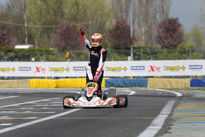 Dubai based Sodi Racing ME driver Vincent Fraisse triumphs in Europe