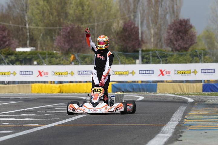 Dubai based Sodi Racing ME driver Vincent Fraisse triumphs in Europe