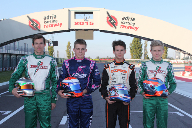 Adria Raceway sets Pole Sitters for International Open