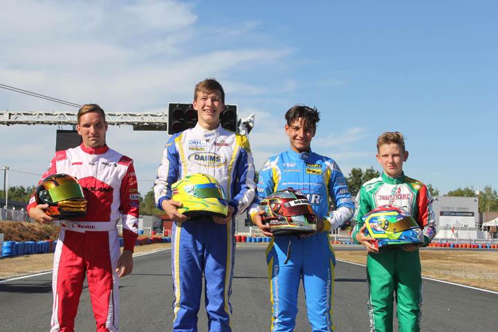 Rotax Max Euro Challenge, Salbris - Qualifying