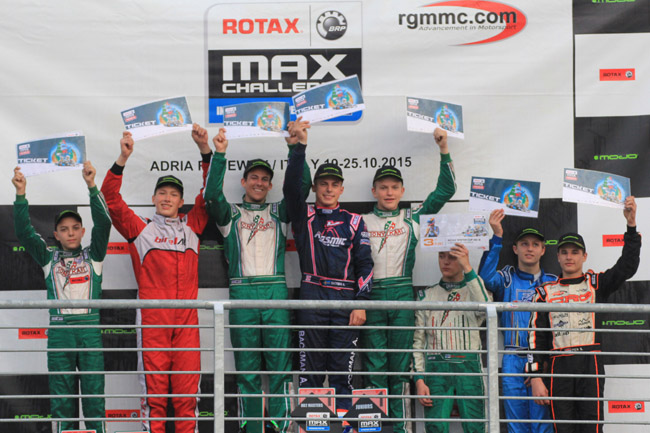 Great showdown at the Rotax International Open