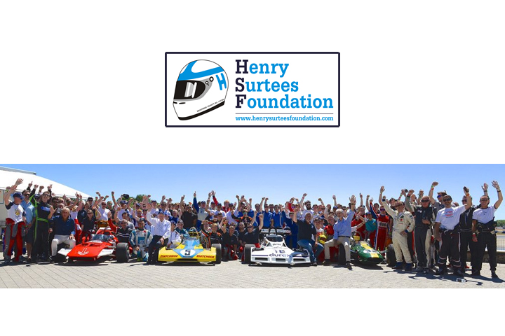 Entries Now Open for the Fifth Henry Surtees Foundation Brooklands Team Challenge – Tuesday 5 July 2016