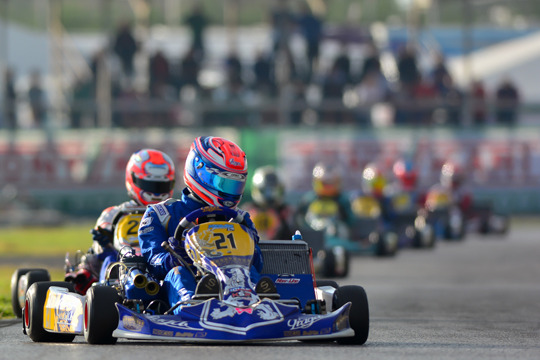 Praga Kart Racing almost at a podium