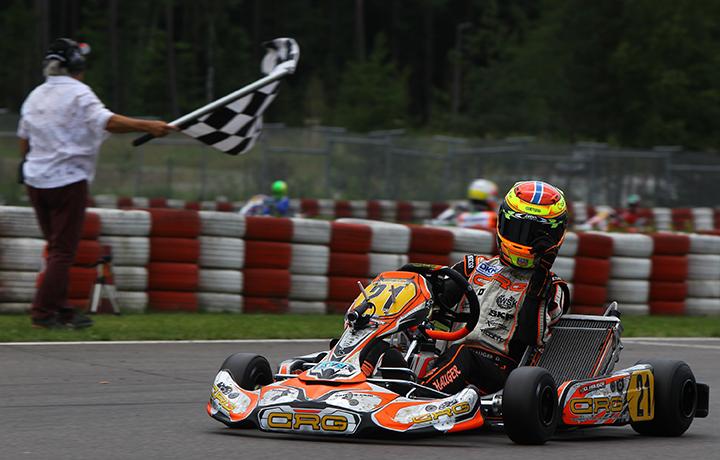 CRG heading to Finland for the fourth round of the CIK-FIA OK & OK Junior Championship