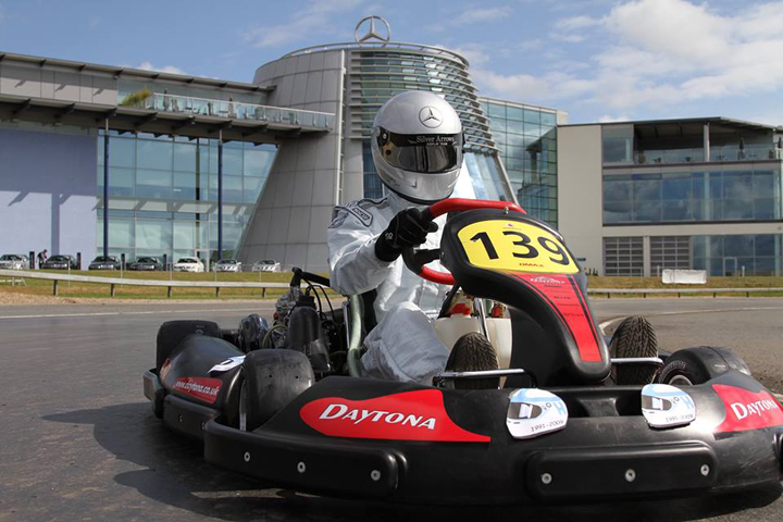 John Surtees CBE announces auction lots for the 2016 Henry Surtees Foundation Team Karting Challenge
