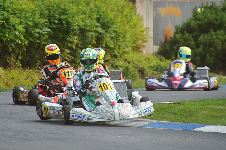 CIK-FIA European Championships, Saturday report