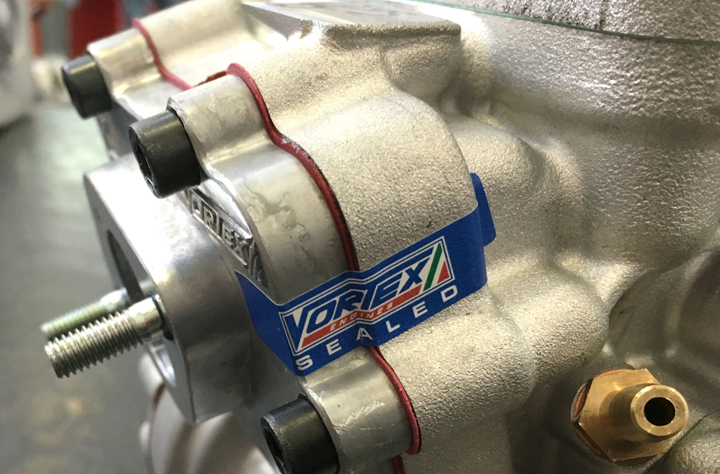 Vortex sole engine supplier of the British National Championship