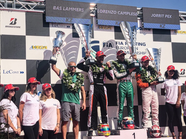 CIK Euro, Sarno: Camplese and Denner won the races. Pex and Skaras are the new champions
