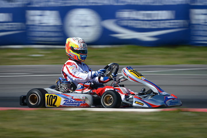 Tom Joyner will line up in Monarto for the Australian Kart Championship round
