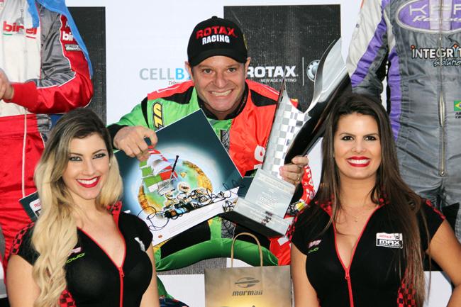 Rubinho set to race in the RMCGF