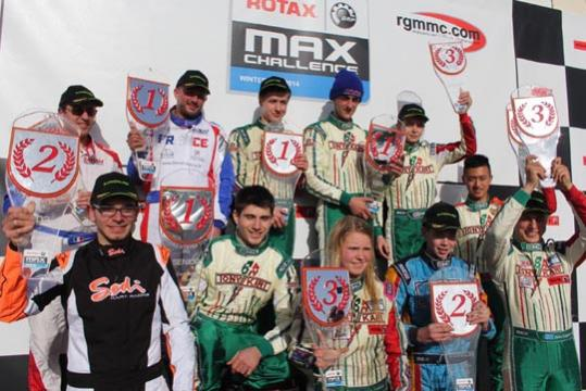 Rotax Winter Cup winners crowned at Campillos