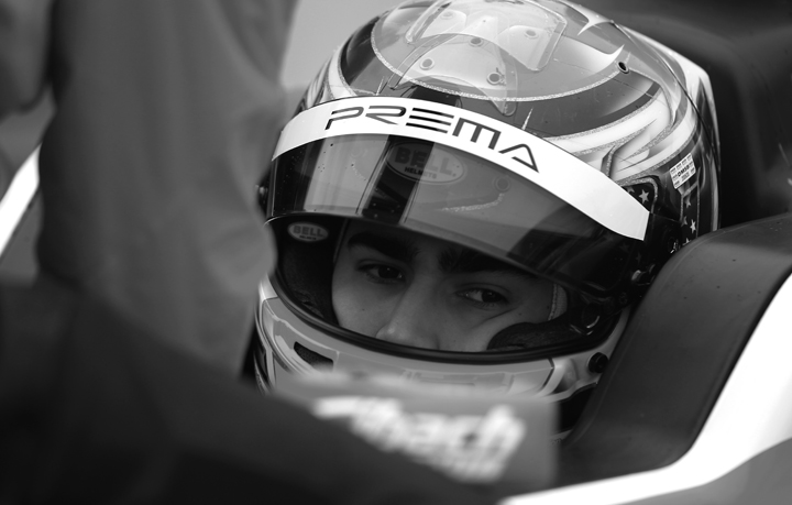 Juan Manuel Correa, from karting to Formula 4