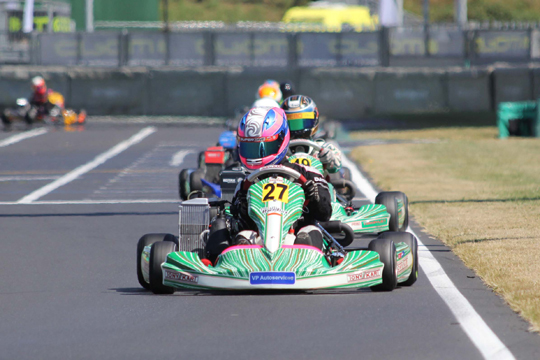 Hot Friday Action of the ROTAX MAX Euro Challenge at PF