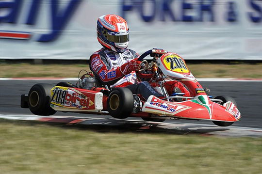 "Kevin Rossel to join Birel ""entourage"" once again"