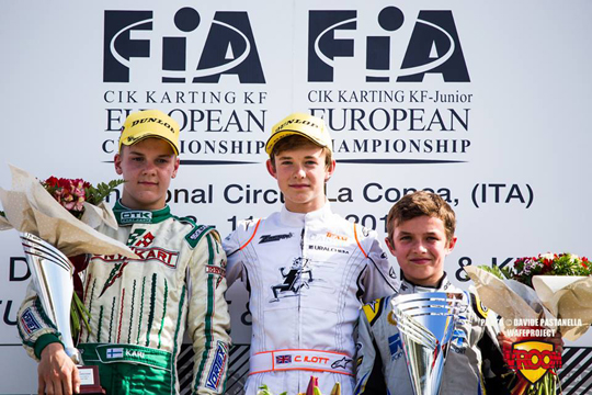Ilott on top in KF Euro opening round