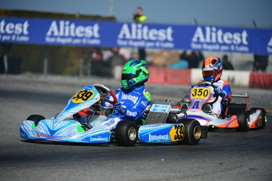 200 drivers entered the Trofeo Andrea Margutti