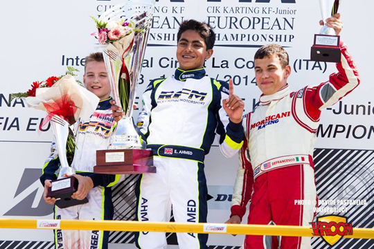 Ahmed supreme in KFJ Euro Championship
