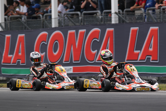 Crg to the fore in the international CIK-FIA