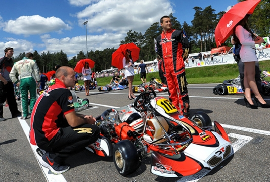 Negro Winner of 2013 WSK Euro Series