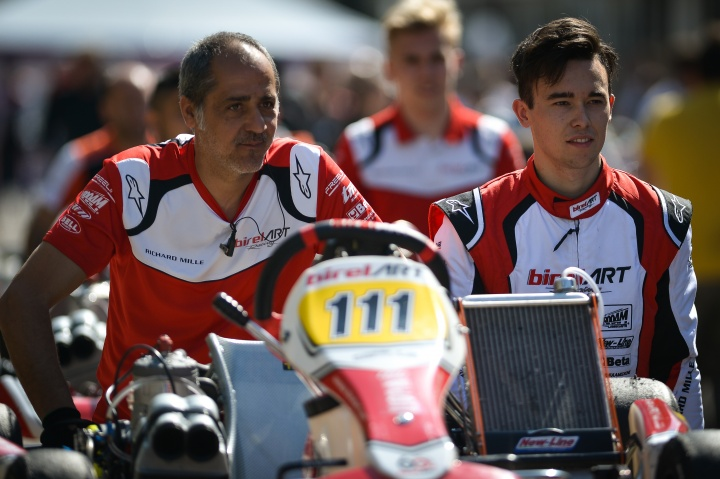 Kremers in the international top four in KZ2