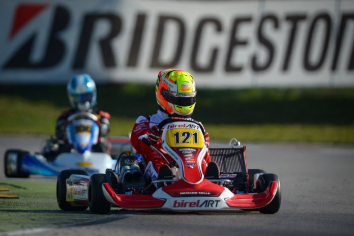 Birel ART Racing convinces from the start of the WSK at Adria