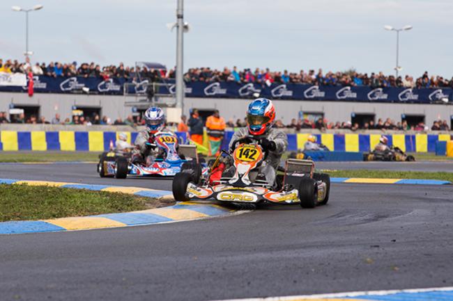 Davies and Johansson super in KZ2