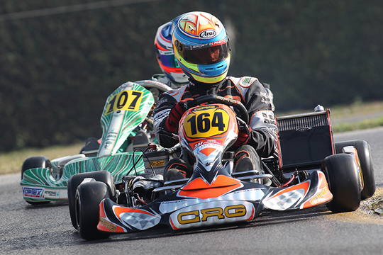 Dalé (KZ2), Lorandi (KF) and Colombo (KFJ) the quickest at the 19th Winter Cup