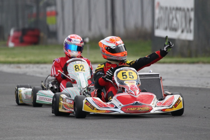 Summer started on a high at the South Garda Karting of Lonato