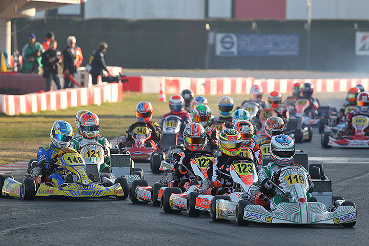 22nd Winter Cup: 290 drivers on track, 90 in KZ2!