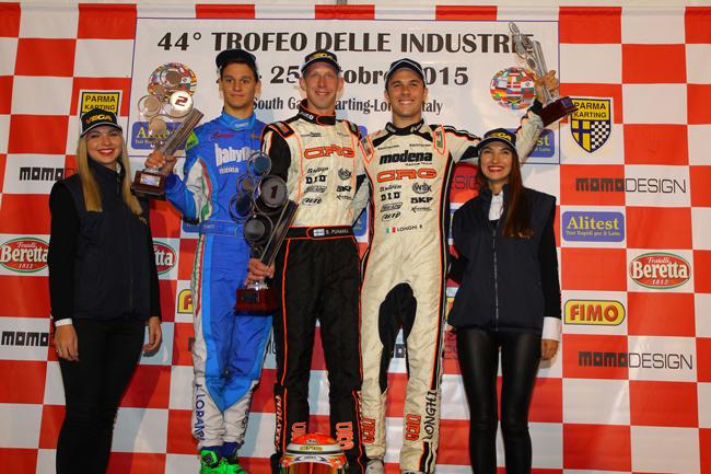 Puhakka, Garcia and Michelotto win the 2015 Trofeo delle Industrie