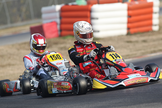163 drivers and several protagonists in all categories