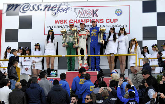 The first WSK victories of 2014 awarded at La Conca
