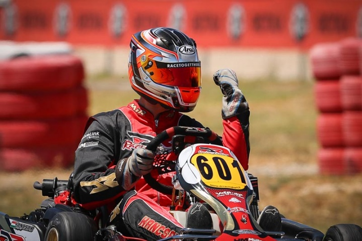 Ferenc Kancsár unbeatable with team VPDR in Rotax DD2 at round 3 of the Rotax Euro Challenge in Spain