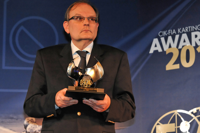 The CIK-FIA Vice-President's words